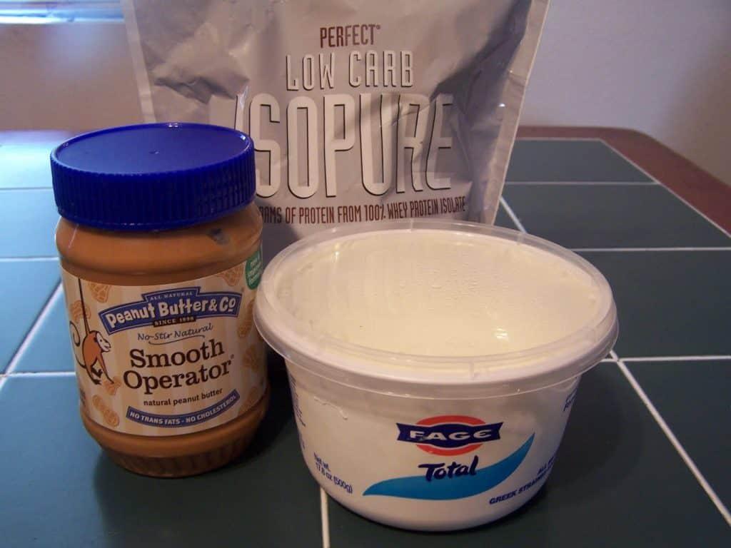 Greek Yogurt protein sludge that's keto friendly